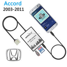 Car USB SD Card Mp3 Player Radio Car Aux In Adapter For Honda Accord 03-11