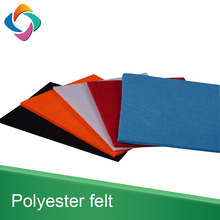 Wholesale multicolor thickness custom fabric hard felt sheet for crafts