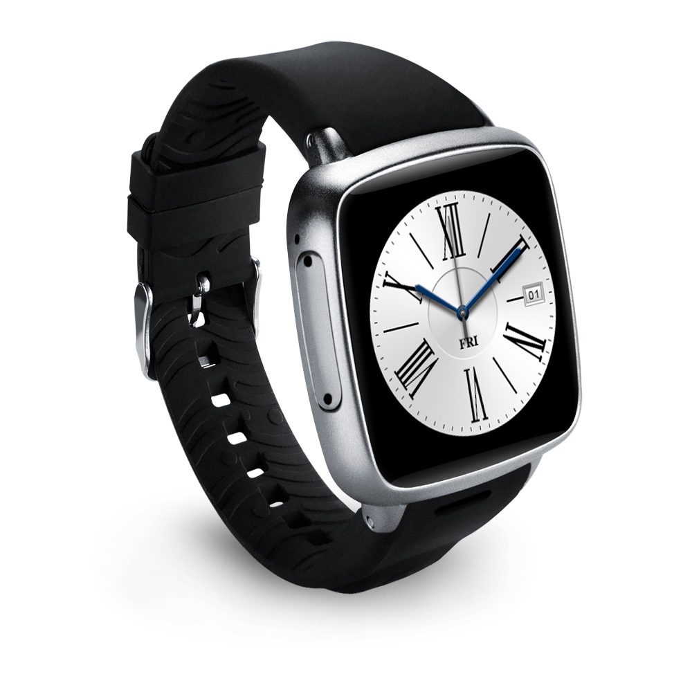 Newest Smart Watch MTK6572--Dual Core 1.3GHz Z01 Smart Watch with WIFI watch phone support heart rate, GPS, FM Radio