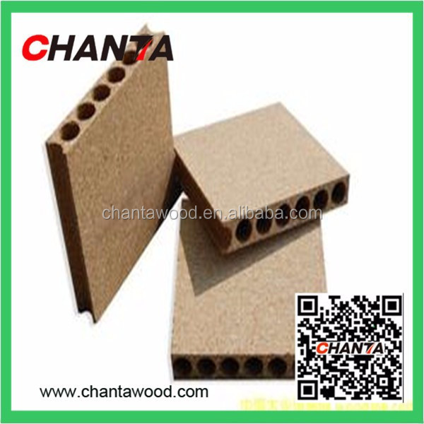 SOUND INSULATION HOLLOW PARTICLE BOARD/TUBULAR CHIPBOARD FOR DOOR CORE
