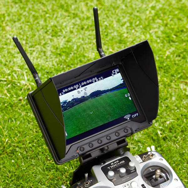 5.8G 7 inch FPV wireless 1024*600 FPV outdoor portable hdmi <strong>monitor</strong>
