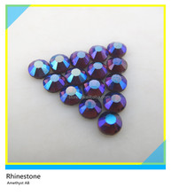 Best Price Hot Fix SS20 AB Amethyst Rhinestones, Hot Fix Glass Stones in Bulk for Garment