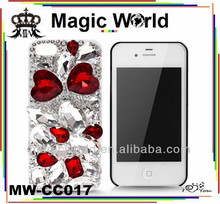 queen style shining unique funky mobile phone cases for iphone 4 4s