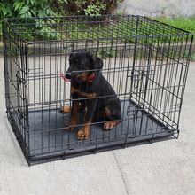 New product fashionable heavy duty large dog kennel/run fence with wheels