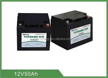 Lithium Battery 12V 50Ah Rechargeable LiFePO4 Battery for Car Starting
