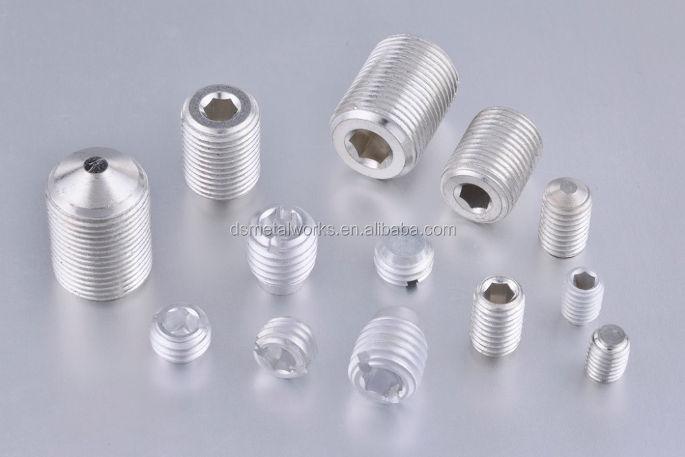 Aluminium Alloy 6061 Set Screw