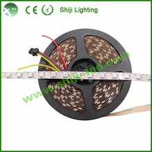 Addressable 60pixels ws2812b grogram digital rgb led strip smd5050