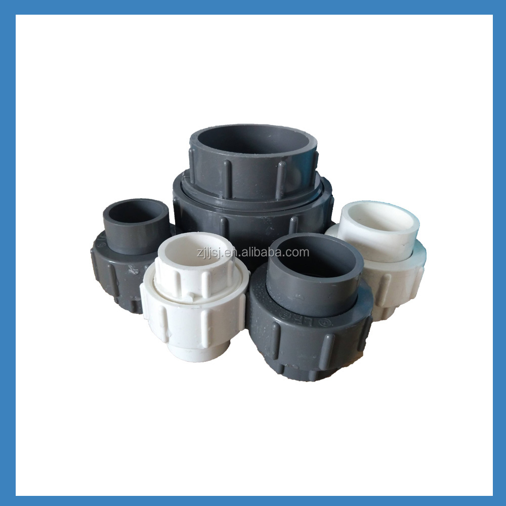 Customize /cheap Plastic CPVC female threaded Union/pipe fittings in low price for agriculture irrigation