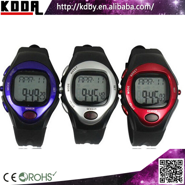 Heart Rate Calorie Distance Watches Smart Watches Plastic Sport Digital Heart Rate Monitor Watch