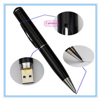 Mini HD sd card manual for pen camera with 8gb memory card, mini pen cctv camera