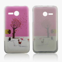 Beautiful tpu cover for huawei ascend y220 color phone case