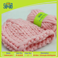 alibaba trade assurance company smb best wholesale oeko tex free samples solid color new thick yarn for knitting hats