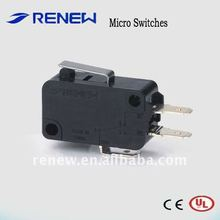 Short hinge lever type micro switch (UL/CE certificate)