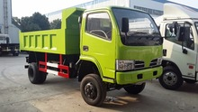 Dongfeng 4x4 All-wheel Drive Off-road RHD Right Hand Drive Dump Truck 3.5 Tons