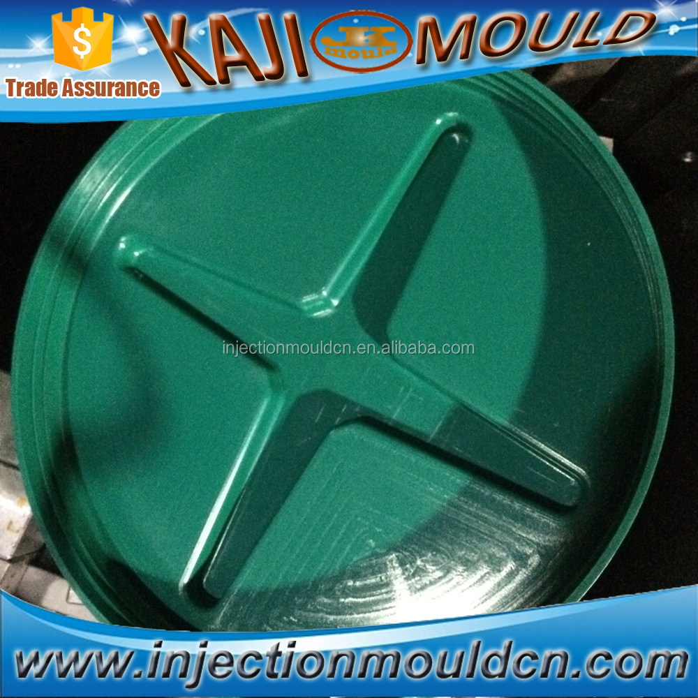 full automatic 3 plate plastic cover mould with screw
