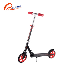 Factory hot sales 2 wheel foot pedal scooter with 200mm wheels for adults