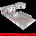 portable 6*11 trade show display booths, exhibition booth system for IGEL Beauty and SKY Beauty