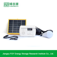 Portable off-grid solar power system , solar energy system with lighting , home solar panel system