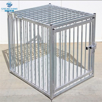 heavy duty Indestructible escape proof steel dog crate european style