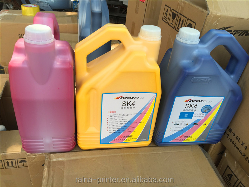 original infinity inkjet solvent ink for large format printer with SPT heads