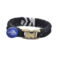 Fish Tail 550 Paracord fashion Survival Bracelets with stainless steel buckle wholesale