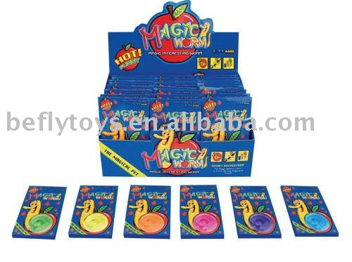 magic worm toy