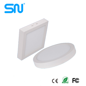 Hot sale 6w 12w 18w 24w surface mounted led panel light