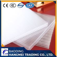 Low price good quaility polycarbonate honeycomb panel selling used widely for roofing greenhouse building decoration