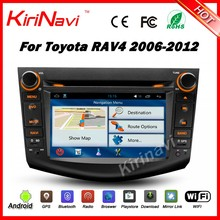 Kirinavi WC-TR7015 android 5.1 car radio audio dvd player for toyota rav4 2006-2012 dab radio multimedia system WIFI 3G