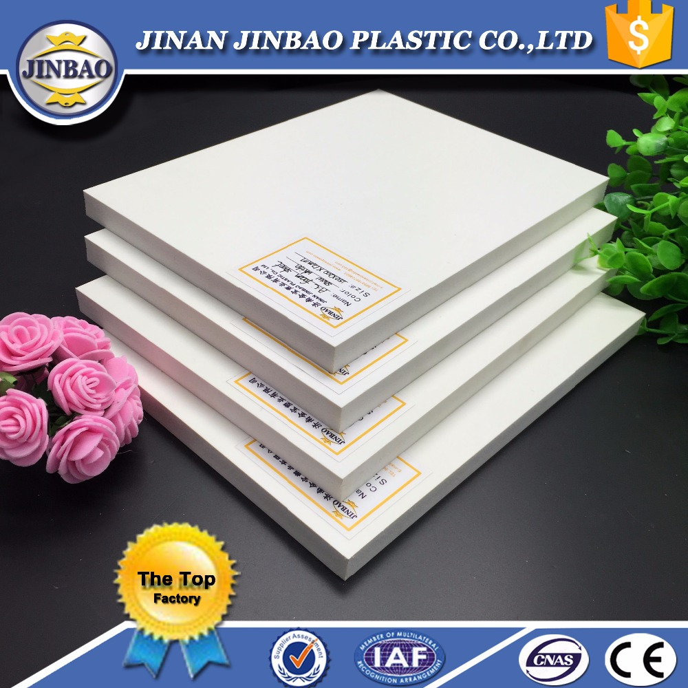 JINBAO outdoor sign display material 4x8 printing pvc foam celuka board
