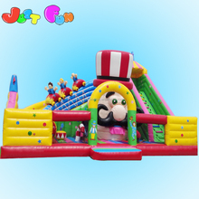 Cheap China circus theme adult inflatable bounce-outdoor playground equipment for sale