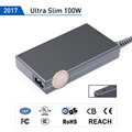 2017 Ultra Slim 90W Universal ac adapter with 5V2.1A USB plug UL TUV GS REACH CB CE FCC CCC ROHS