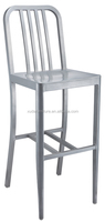 Aluminum burshed /power coating bar chair M-3