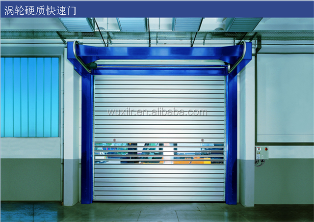 Electric stainless steel cheap large industrial aluminum folding door/fast doors
