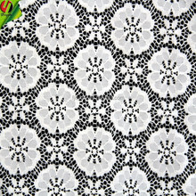 High Quality Factory Wholesale Spandex pure white rachel lace Fabric
