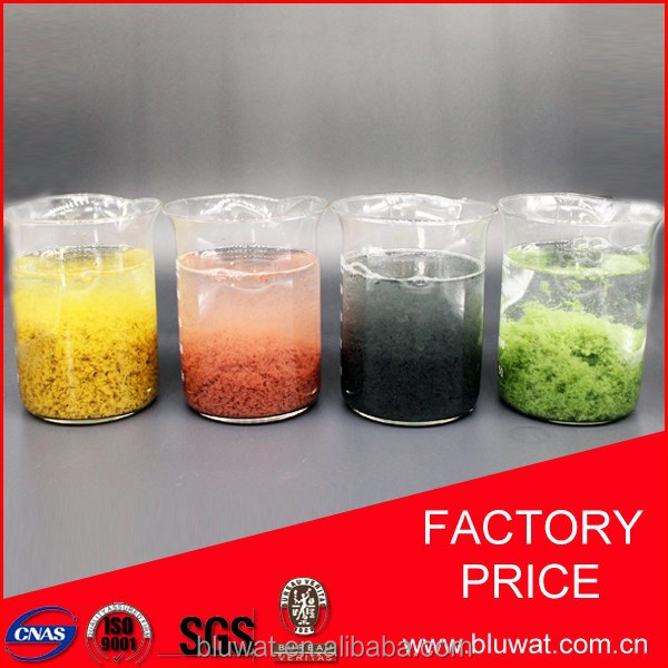 High Effecient Decoloring Agent for Paper Waste Water Treatment