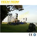 6.5m height India Speaker/Line Array Hand Crank Used Tower Crank Lift