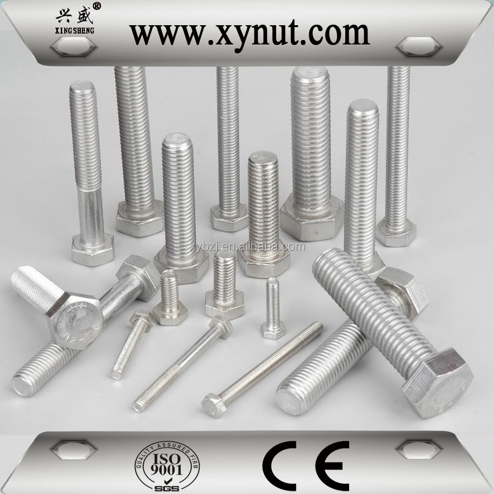 Competitive price grade8.8 grade6.8 grade4.8 factory cost hex thru bolt fastener for retail