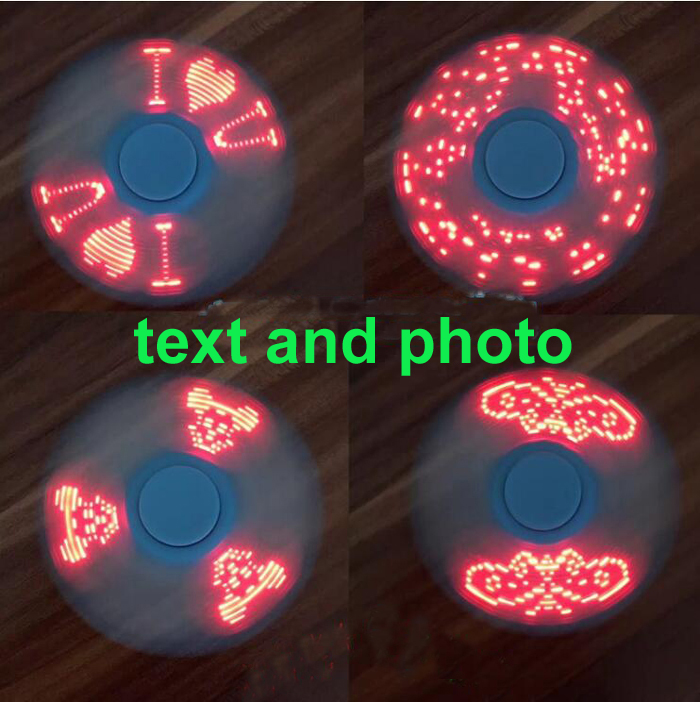 OEM 17 text and photos Innovative gift with EN710 and CE Custom Logo fidget spinner
