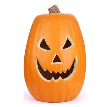 Halloween Pumpkin 8 inches Polyfoam Table Decoration Pumpkin for Home and Garden Decorations