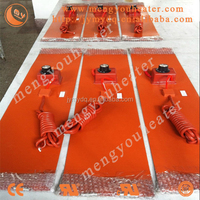 manufacturer and sales-direct factory customized silicone rubber heater electric heater brass flame stoves