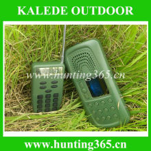 Electronic hunting bird sounds MP3 duck and goose decoy cp-387 bird caller with remote control and bird sounds