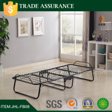 Twin Size Black Metal Roll Out Trundle Bed Frame for DayBed