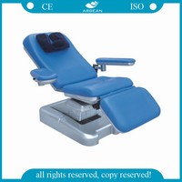 AG-XD102 electric multifunction blood donation hospital phlebotomy chair
