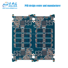 6 Layers removable hard disk osp pcb boards manufacturer in China