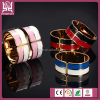 Stylish and colorful enamel stainless steel bulk custom jewelry