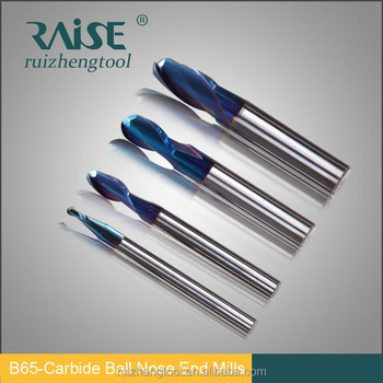 Carbide Ball Nose End Milling Cutters