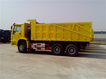 6x4 Sinotruk Howo sand tipper truck lorry dump truck for sale