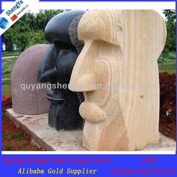 Outdoor large stone garden statues for sale buy large for Large garden stones for sale