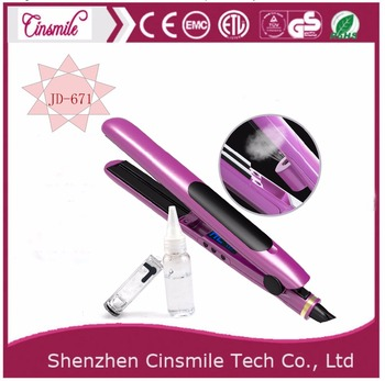 Automatic Device Steam Hair Straightener Iron New Flat Iron Hair Straightener with Steam